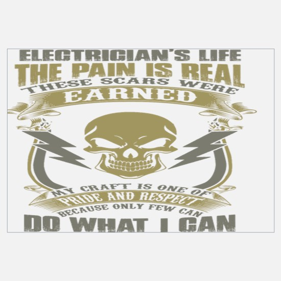 Funny Electrician Wall Art