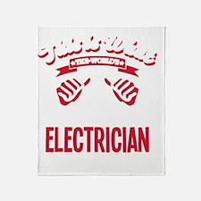 Cute Electrical engineer Throw Blanket