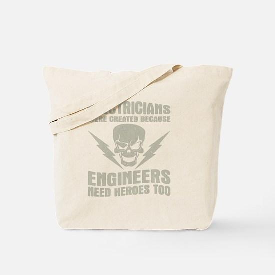 Cute Electrician Tote Bag