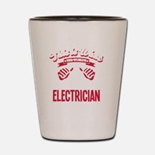 Cool Electrician Shot Glass