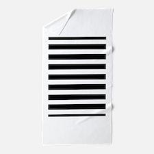 Black White Striped Beach Towels Pool Towels Kids Beach Towel
