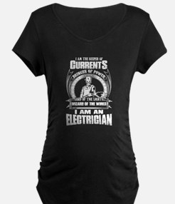 Electrician Maternity T-Shirt
