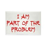 Part Of The Problem Rectangle Magnet (100 pack)
