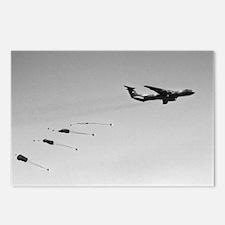 C-141 Air Drop Postcards (Package of 8)