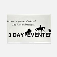 Cute 3 day eventer Rectangle Magnet
