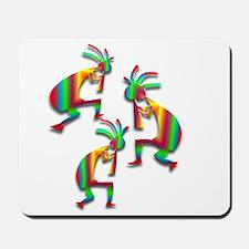 Three Kokopelli #25 Mousepad