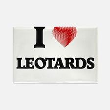 I Love Leotards Magnets