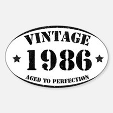 Vintage Aged to Perfection 1986 Decal