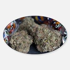 Granddaddy Purple Medical Marijuana Decal