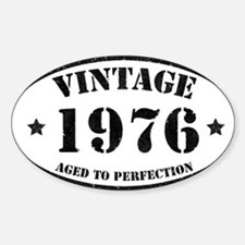 Vintage Aged to Perfection 1976 Decal