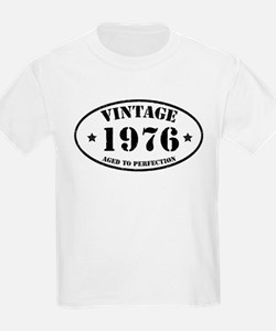 Vintage Aged to Perfection 1976 T-Shirt