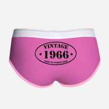 Vintage Aged to Perfection 1966 Women's Boy Brief