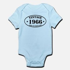 Vintage Aged to Perfection 1966 Body Suit