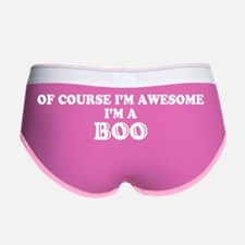 Cute Boo Women's Boy Brief