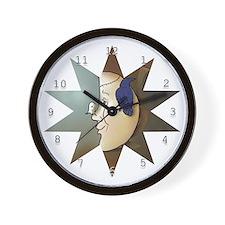 """""""Halloween Moon"""" Wall Clock"""
