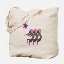 Three Kokopelli #26 Tote Bag