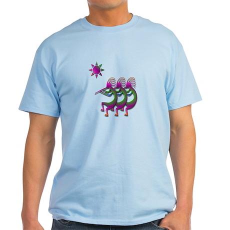 Three Kokopelli #26 Light T-Shirt