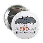 Bat-tastic Button
