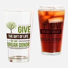 Unique Organ donation Drinking Glass
