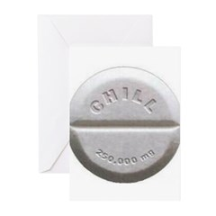 Chill Pill Greeting Cards (Pk of 20)