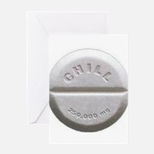 Chill Pill Greeting Card