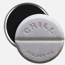 """Chill Pill 2.25"""" Magnet (100 pack)"""