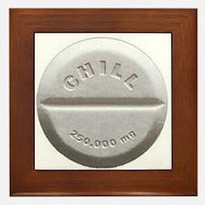 Chill Pill Framed Tile