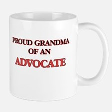 Proud Grandma of a Advocate Mugs