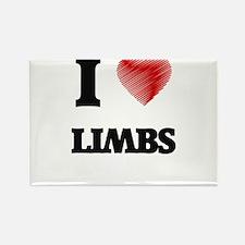 I Love Limbs Magnets