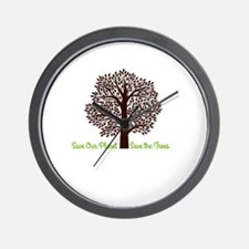 Save our Planet! Wall Clock