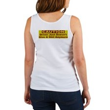 Driver just doesn't give a sh Women's Tank Top