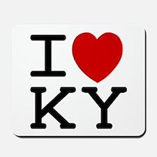 I heart KY Mousepad