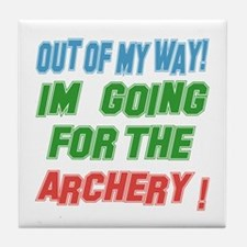 I'm going for the Archery Tile Coaster