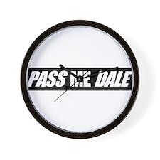 PASS ME DALE Wall Clock