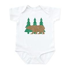 Vintage Bear Infant Bodysuit