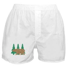 Vintage Bear Boxer Shorts