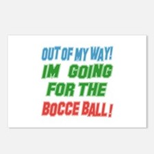I'm going for the Bocce b Postcards (Package of 8)