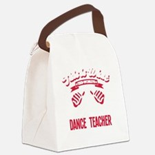 Cute Latin dancing Canvas Lunch Bag