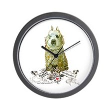 Bouvier des Flandres Fawn Wall Clock
