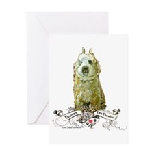 Bouvier des Flandres Fawn Greeting Card