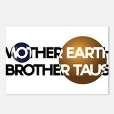 Mother Earth Brother Taus on white background Post