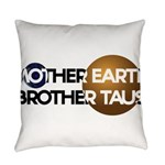 Mother Earth Brother Taus on white background Ever