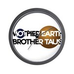 Mother Earth Brother Taus on white background Wall