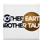 Mother Earth Brother Taus on white background Tile
