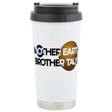 Mother Earth Brother Taus on white background Trav