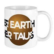 Mother Earth Brother Taus on white background Mugs