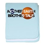 Mother Earth Brother Taus on white background baby