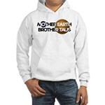 Mother Earth Brother Taus on white background Hood