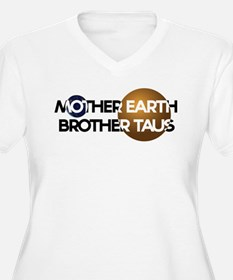 Mother Earth Brother Taus on white background Plus