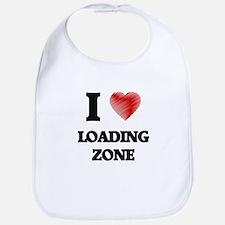 I Love Loading Zone Bib